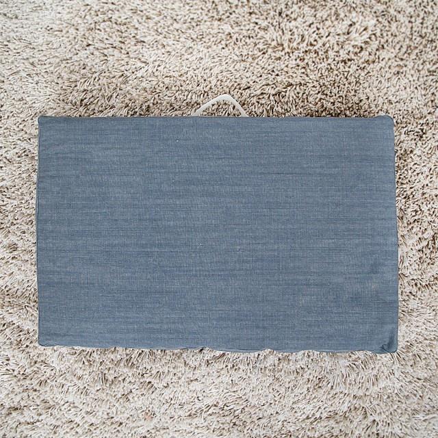 Матрас Канвас (серый), М (85х55х6) беспружинные матрасы