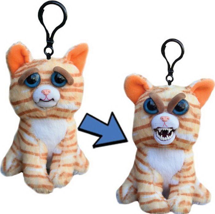 Мягкая игрушка Feisty Pets Кошка, FP002M, бежевый, 11 см goliath goliath мягкая игрушка feisty pets кошка