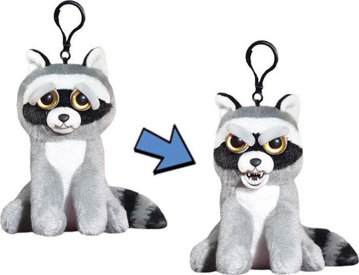 Мягкая игрушка Feisty Pets Енот, FP021M, серый, 11 см goliath енот серый feisty pets fp021 22 см
