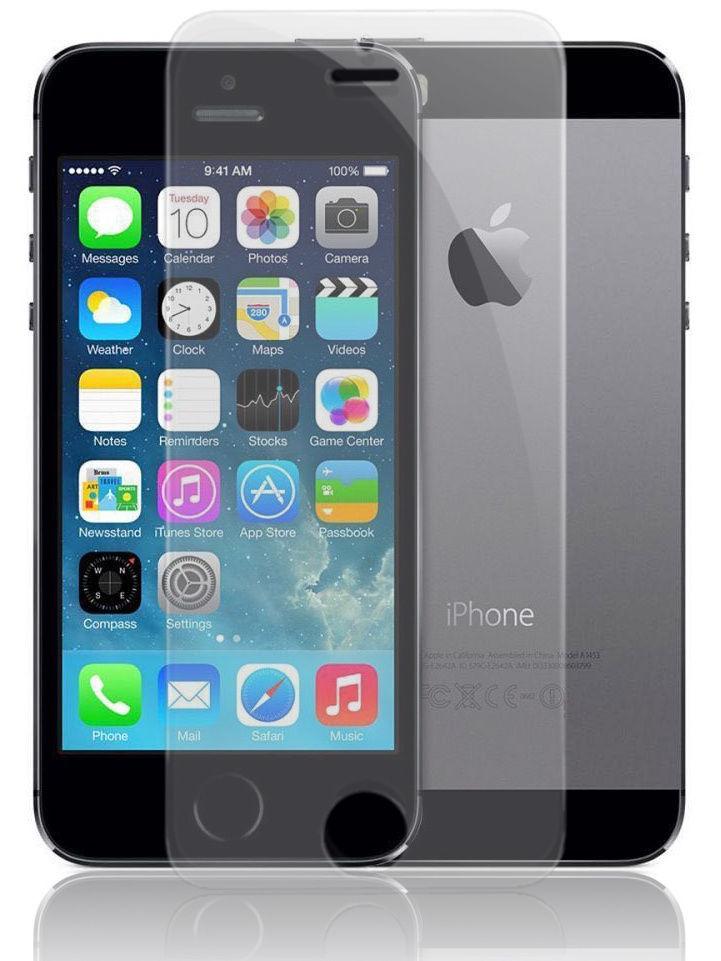Защитное стекло UVOO 2D для Apple iPhone 5/5S/SE, прозрачный