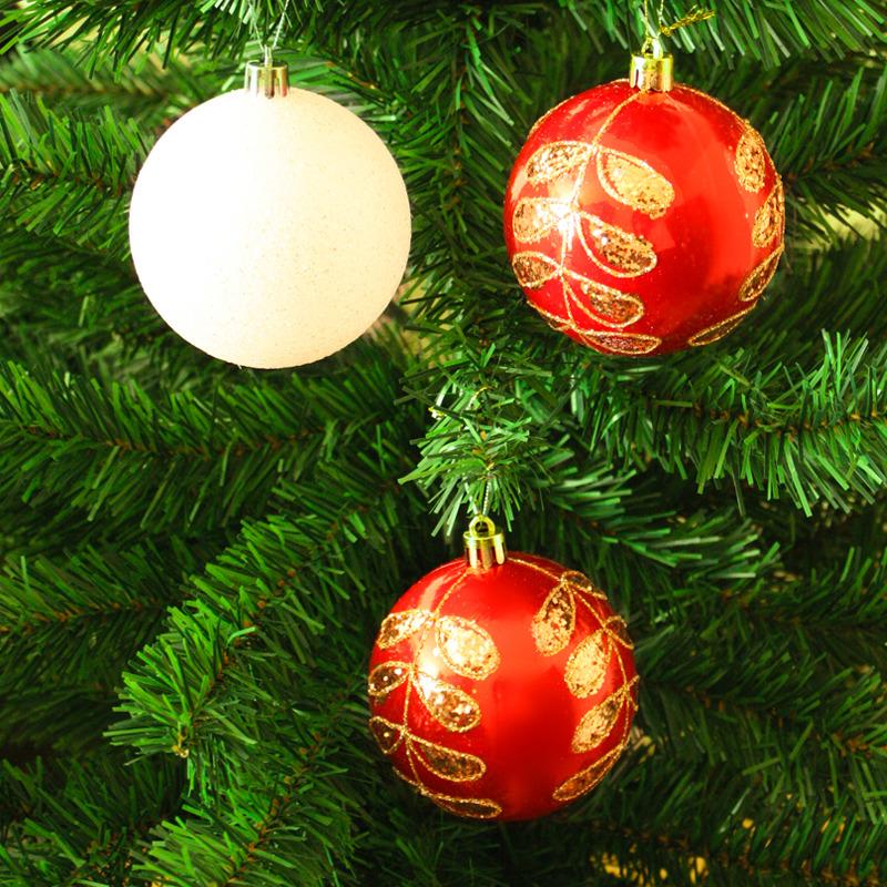 Фото - Набор елочных шаров Магия праздника, диаметр 8 см, 6 шт. NY036 набор елочных шаров магия праздника ny032 красно белый диаметр 6 см 12 шт