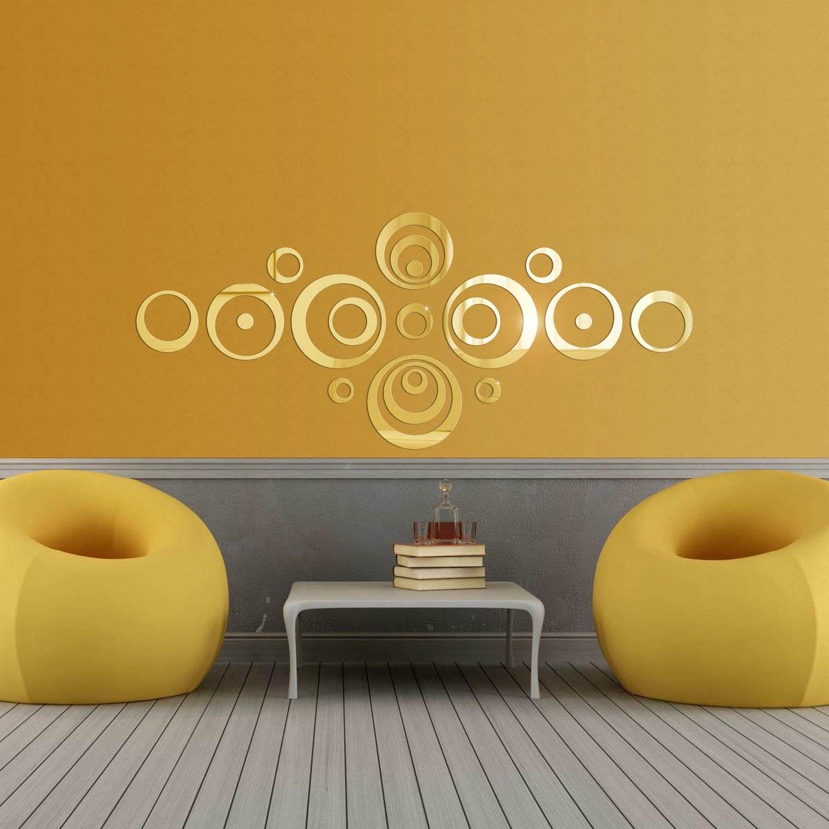 "Фото Настенный декор Ваша Светлость ""Орбита"", 417-1-00101FG, золото"