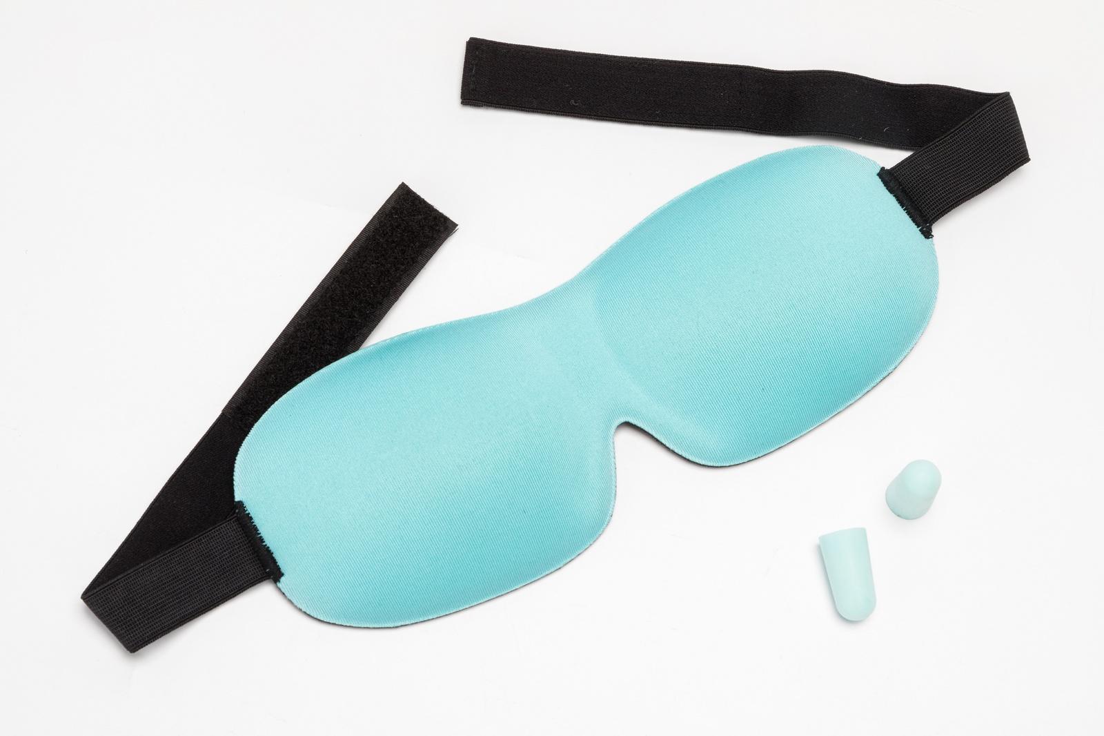 3D маска и беруши для сна Bradex Сладкие сны бирюзовая клинса беруши 2 1 пара