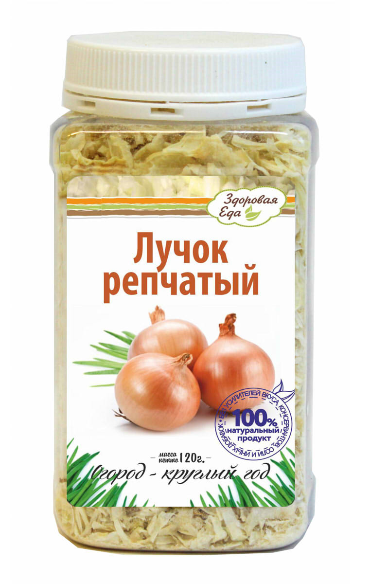 """Приправа Здоровая Еда """"Лук репчатый сушеный"""", 120 г"""