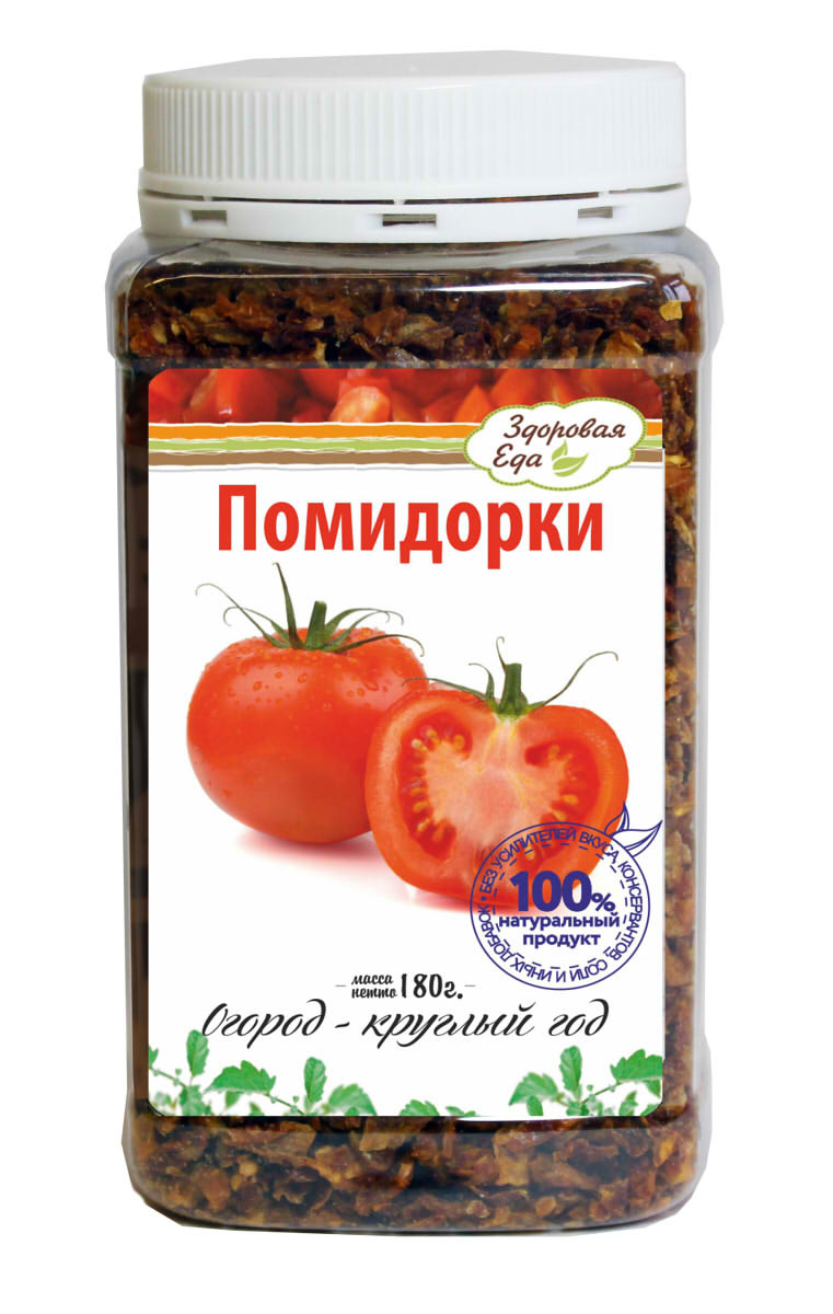 """Приправа Здоровая Еда """"Томаты сушеные"""", 180 г"""