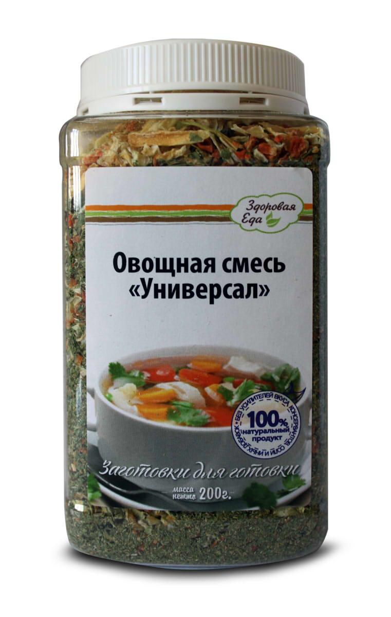 """Овощная смесь Здоровая Еда """"Универсал"""", 200 г"""
