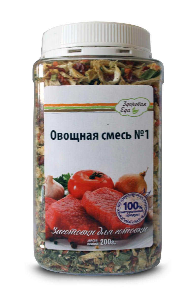 Овощная смесь Здоровая Еда № 1, 200 г nobrand 1032
