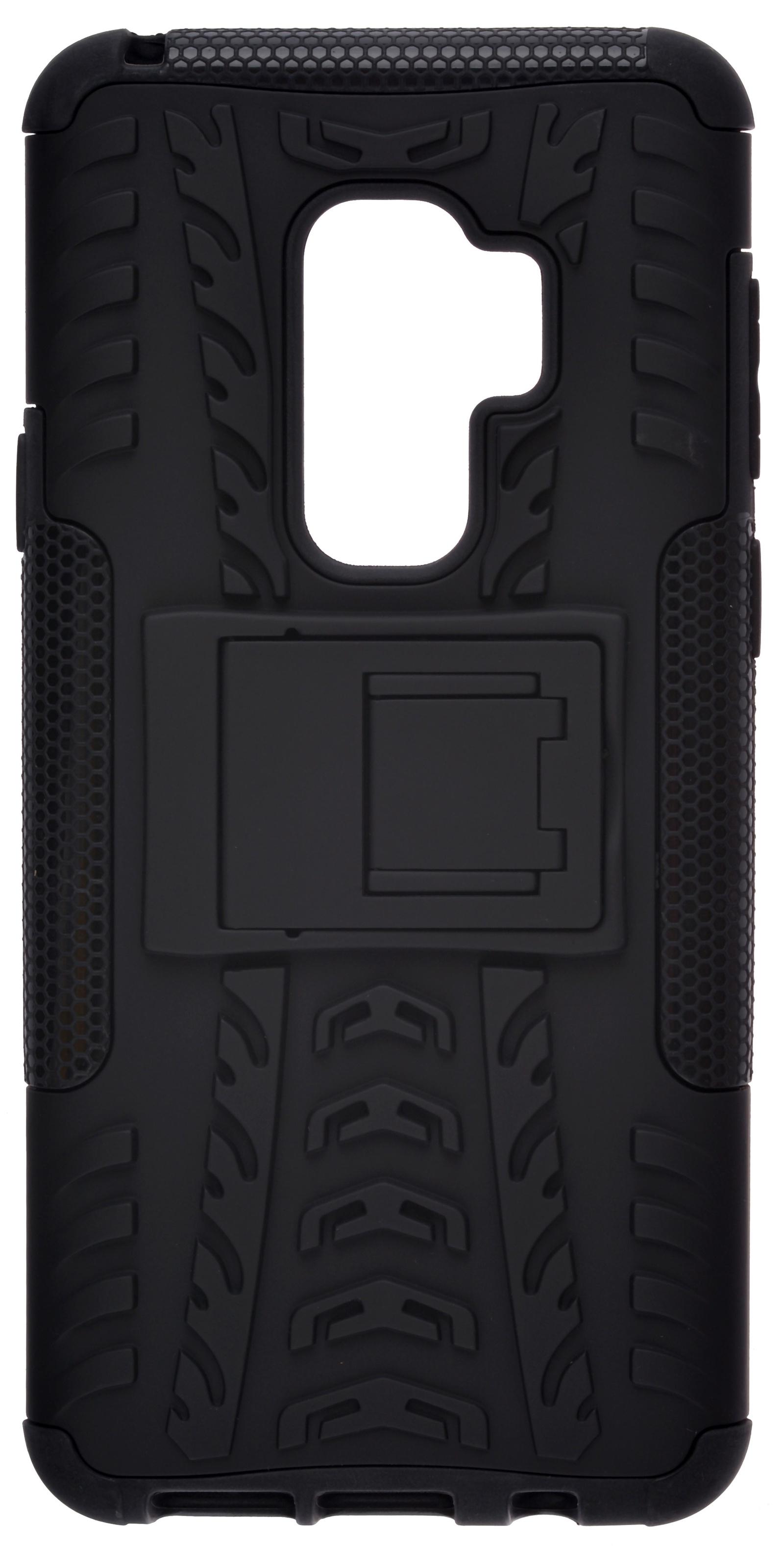 Накладка Skinbox Defender для Samsung Galaxy S9 Plus, 4630042520660, черный кейс для назначение ssamsung galaxy s9 plus s9 кольца держатели кейс на заднюю панель однотонный твердый пк для s9 s9 plus s8 plus