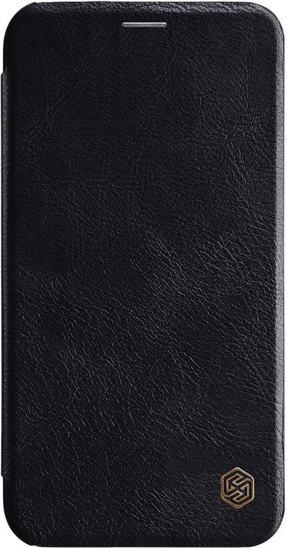 Чехол-книжка Nillkin Qin для iPhone XR, 6902048162938, черный чехол флип кейс nillkin qin для apple iphone 7 plus черный