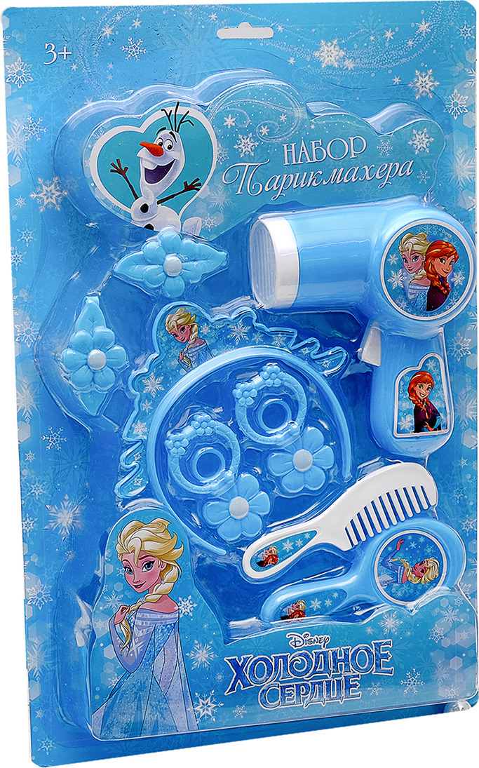 Набор парикмахера Disney Холодное сердце, 3028684, 10 предметов