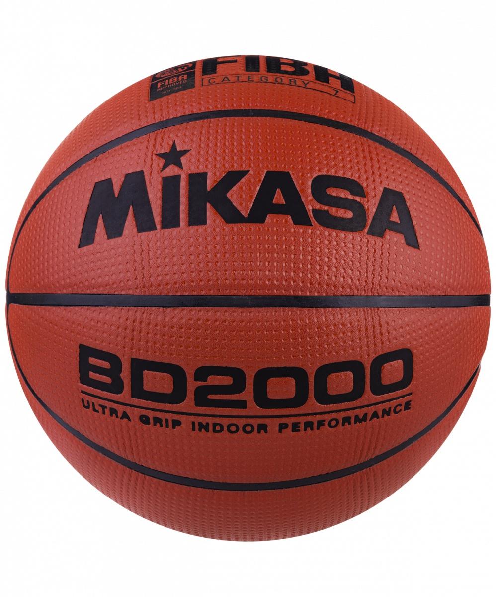 Мяч баскетбольный MIKASA BD 2000 №7 мяч баскетбольный mikasa 1020 р 7 8 панелей