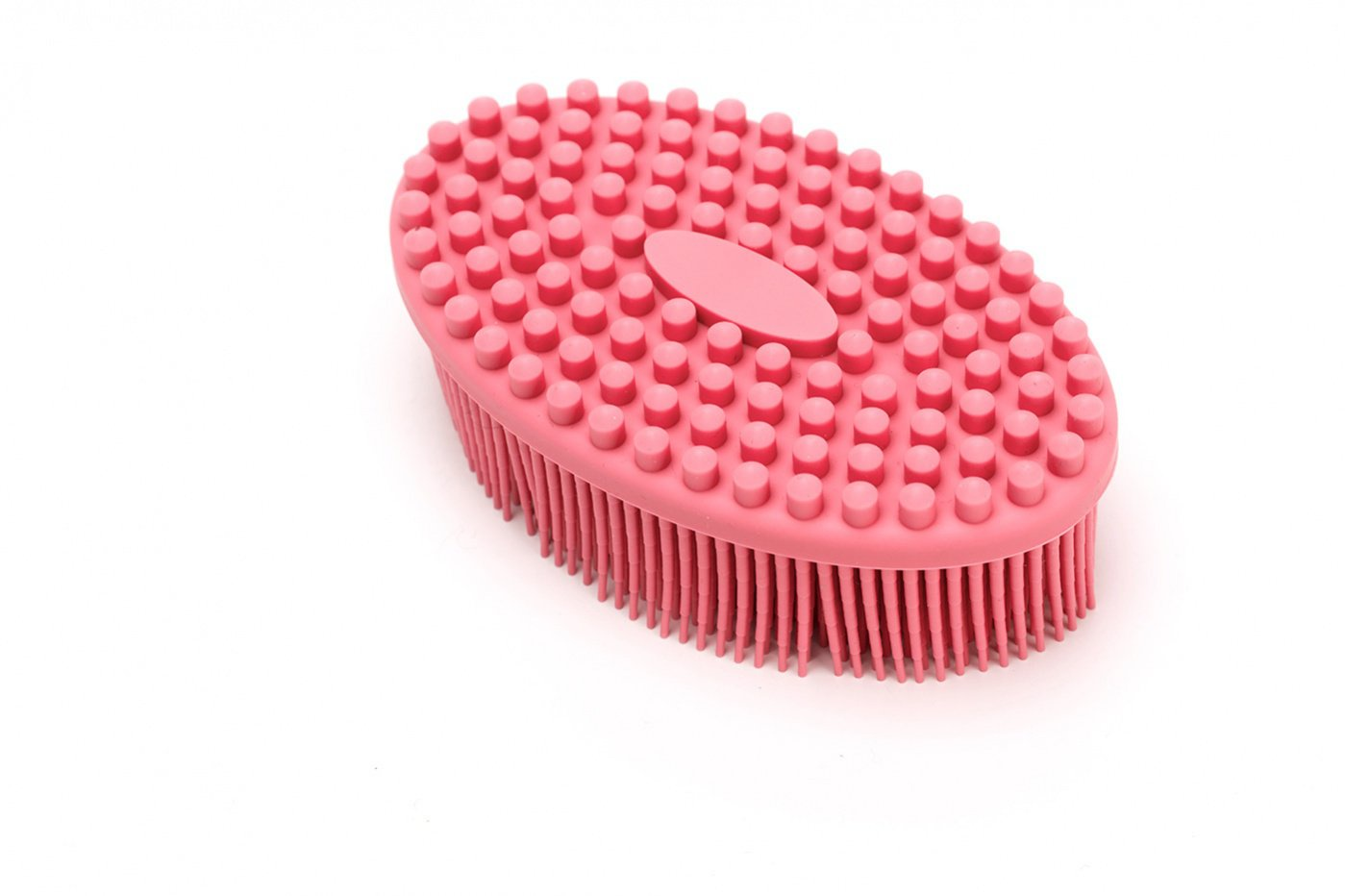 Щетка массажная Bradex для тела «АКТИНИЯ» KZ 0459, нежно-розовый щетка массажная для тела bradex актиния сиреневый