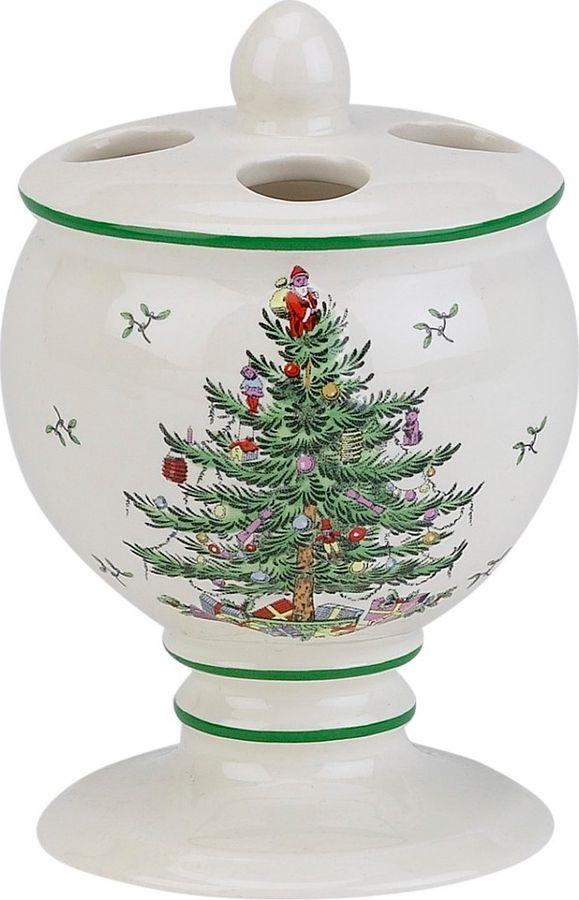 цена на Стакан для зубных щеток Avanti Spode Christmas Tree, 11523B, 150 мл