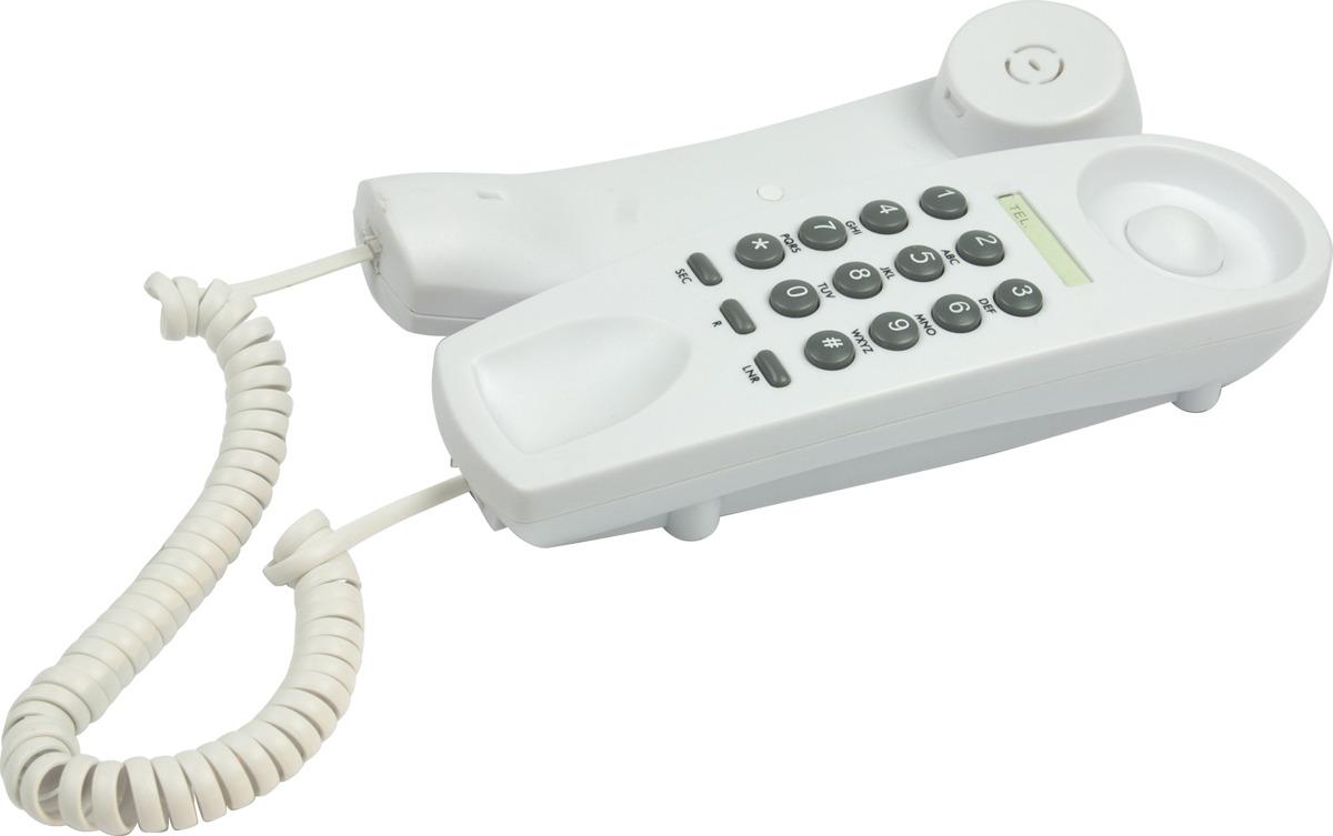 Телефон Ritmix RT-005, белый телефон ritmix rt 520