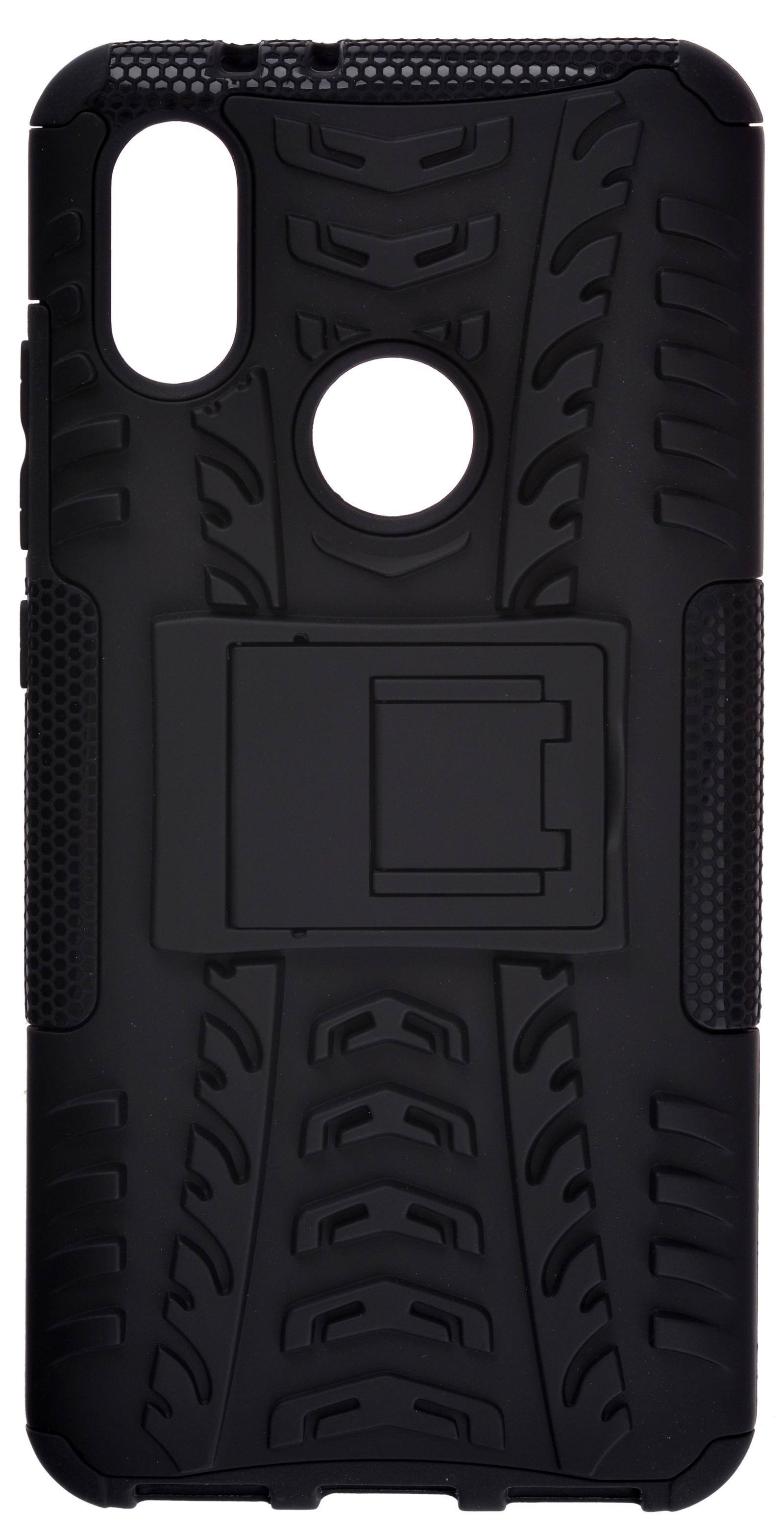 Накладка Skinbox Defender для Xiaomi Mi 6X/A2, 4630042520783, черный защитное стекло mobius xiaomi mi a2 mi 6x черный