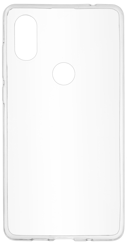 Накладка Skinbox Slim Silicone для Xiaomi Mi MIX 2S, 4660041405309, прозрачный защитное стекло xiaomi mi mix 2s прозрачный