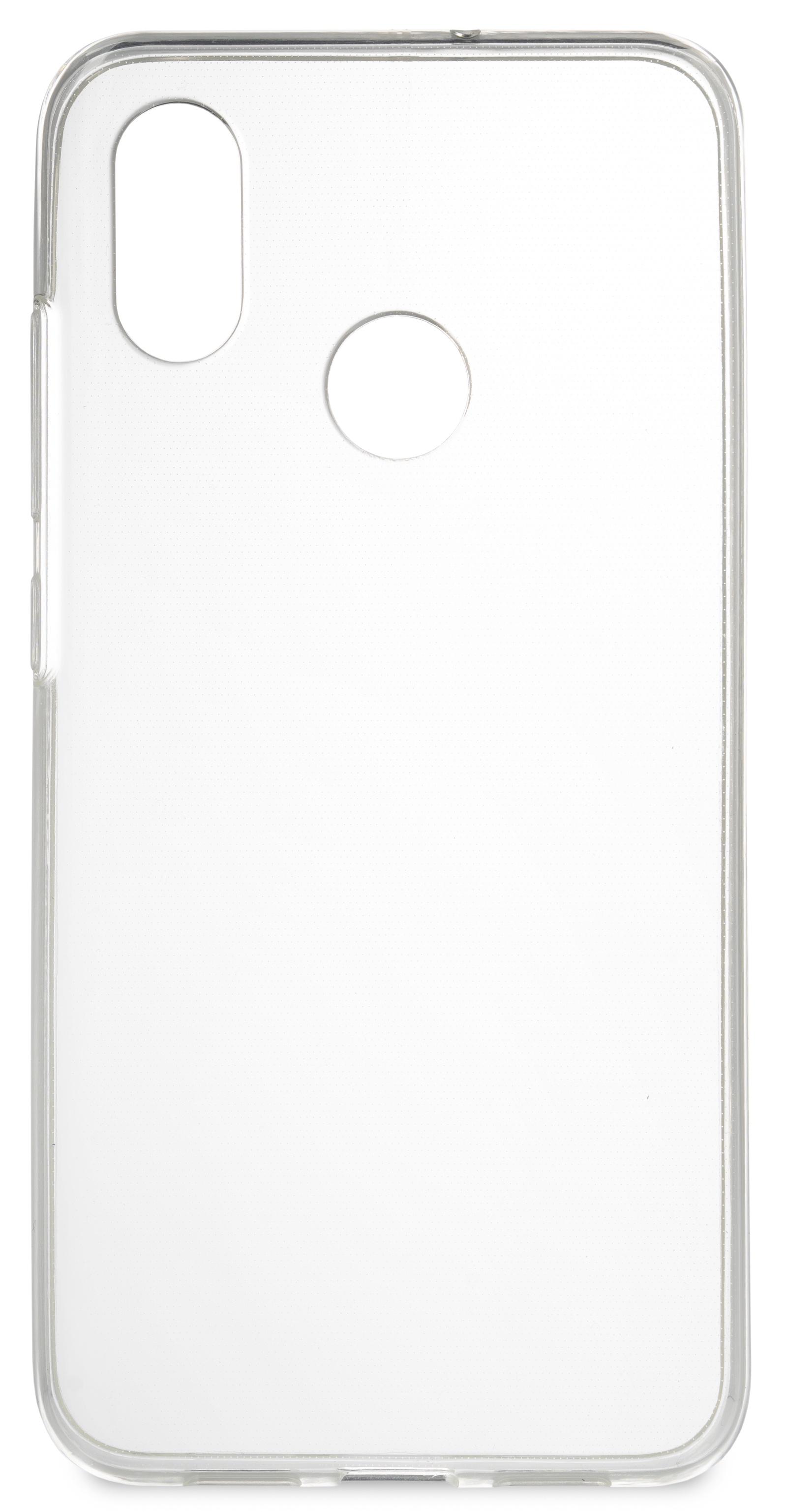 Накладка Skinbox Slim Silicone для Xiaomi Mi8, 4660041405491, прозрачный накладка skinbox slim silicone для xiaomi redmi 4x прозрачный