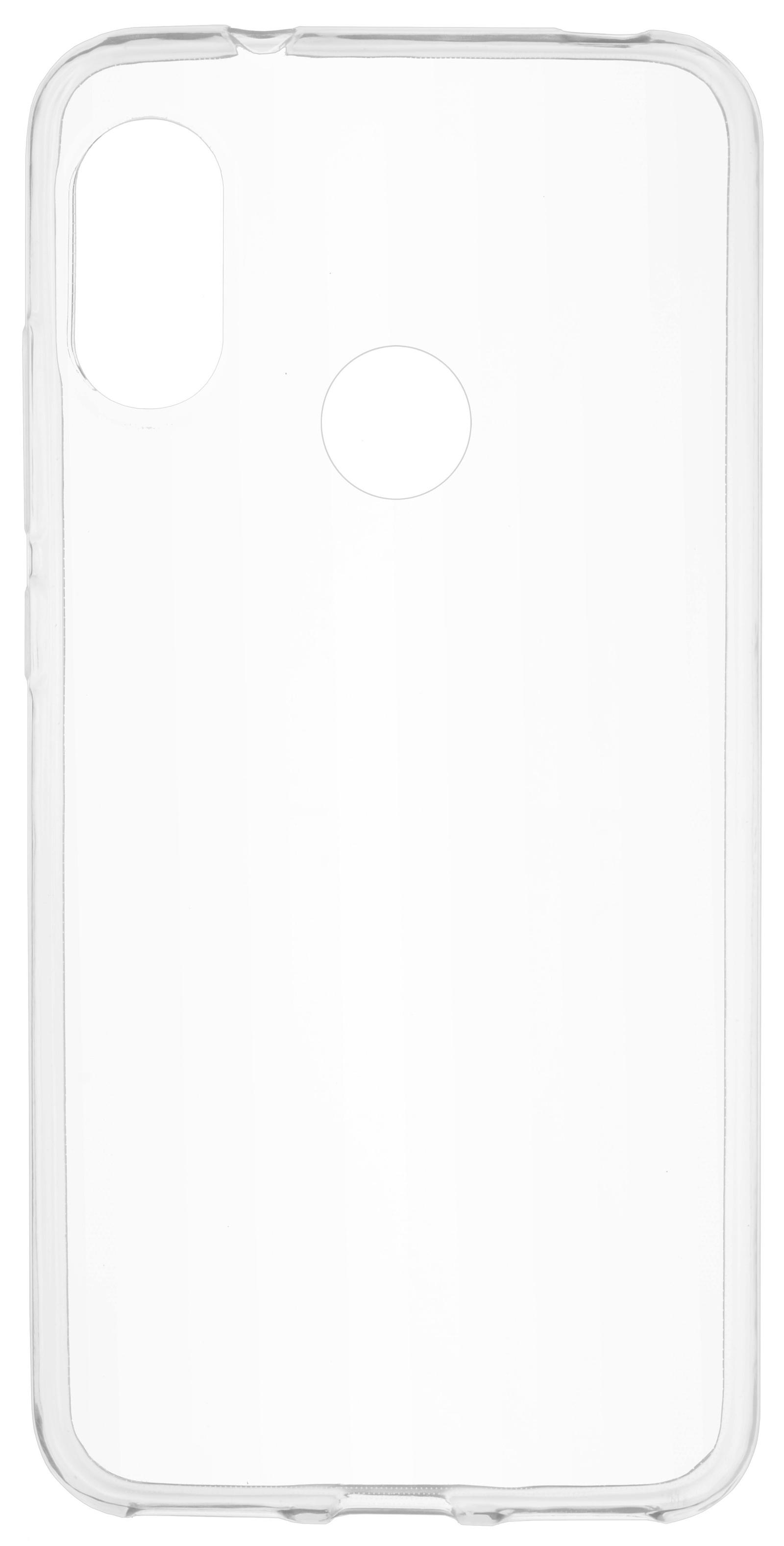 Накладка Skinbox Slim Silicone для Redmi 6 Pro, 4660041406399, прозрачный цена