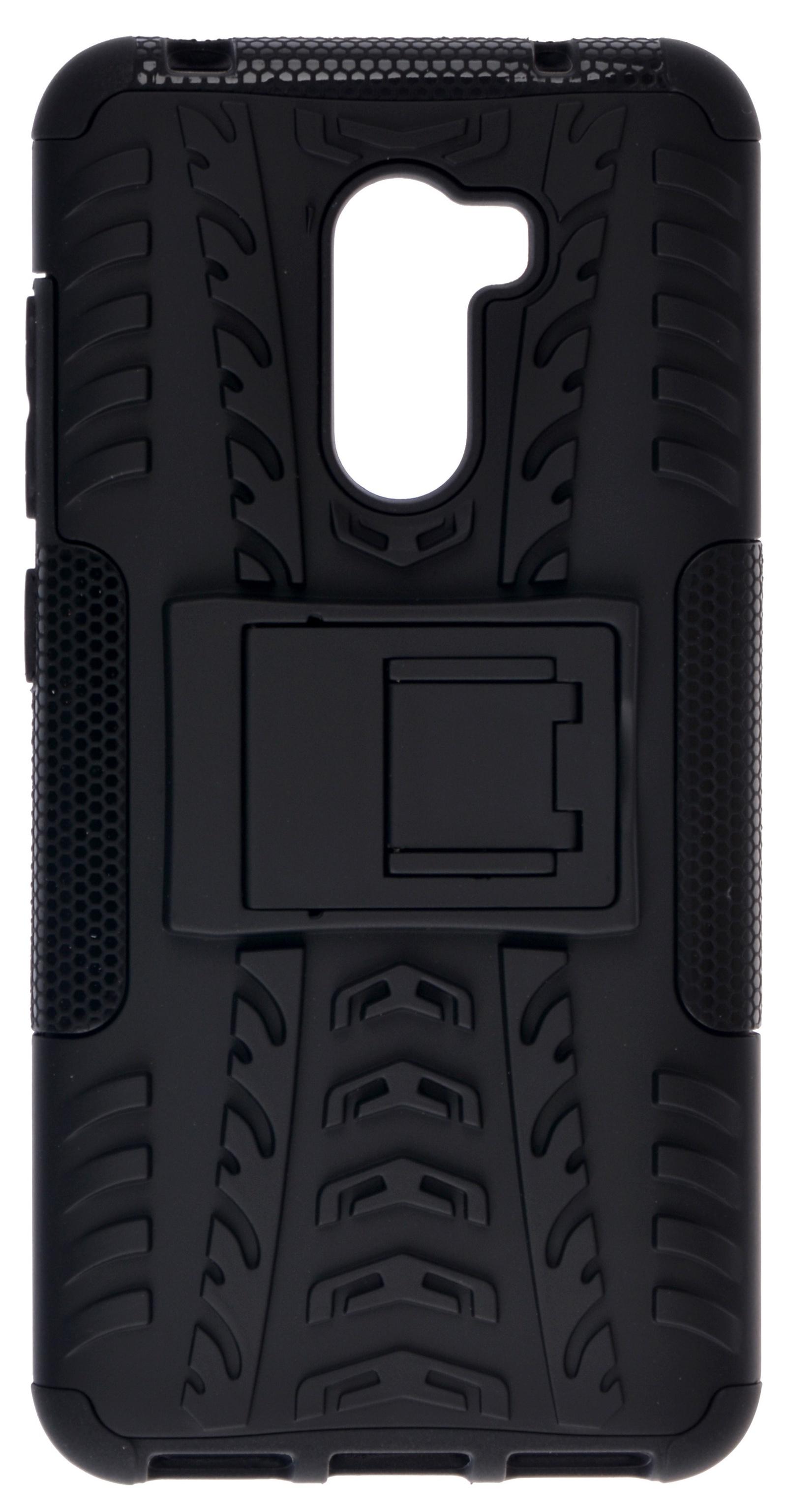 Накладка Skinbox Defender для Pocophone F1/Poco F1, 4630042521414, черный