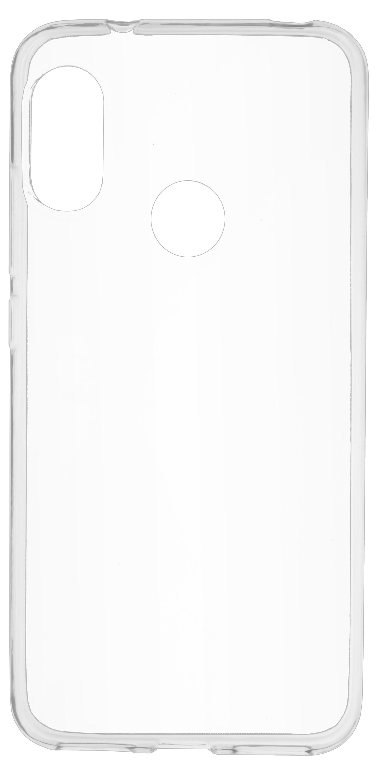 Накладка Skinbox Slim Silicone для Xiaomi A2 Lite/6 PRO, 4660041406368, прозрачный цена