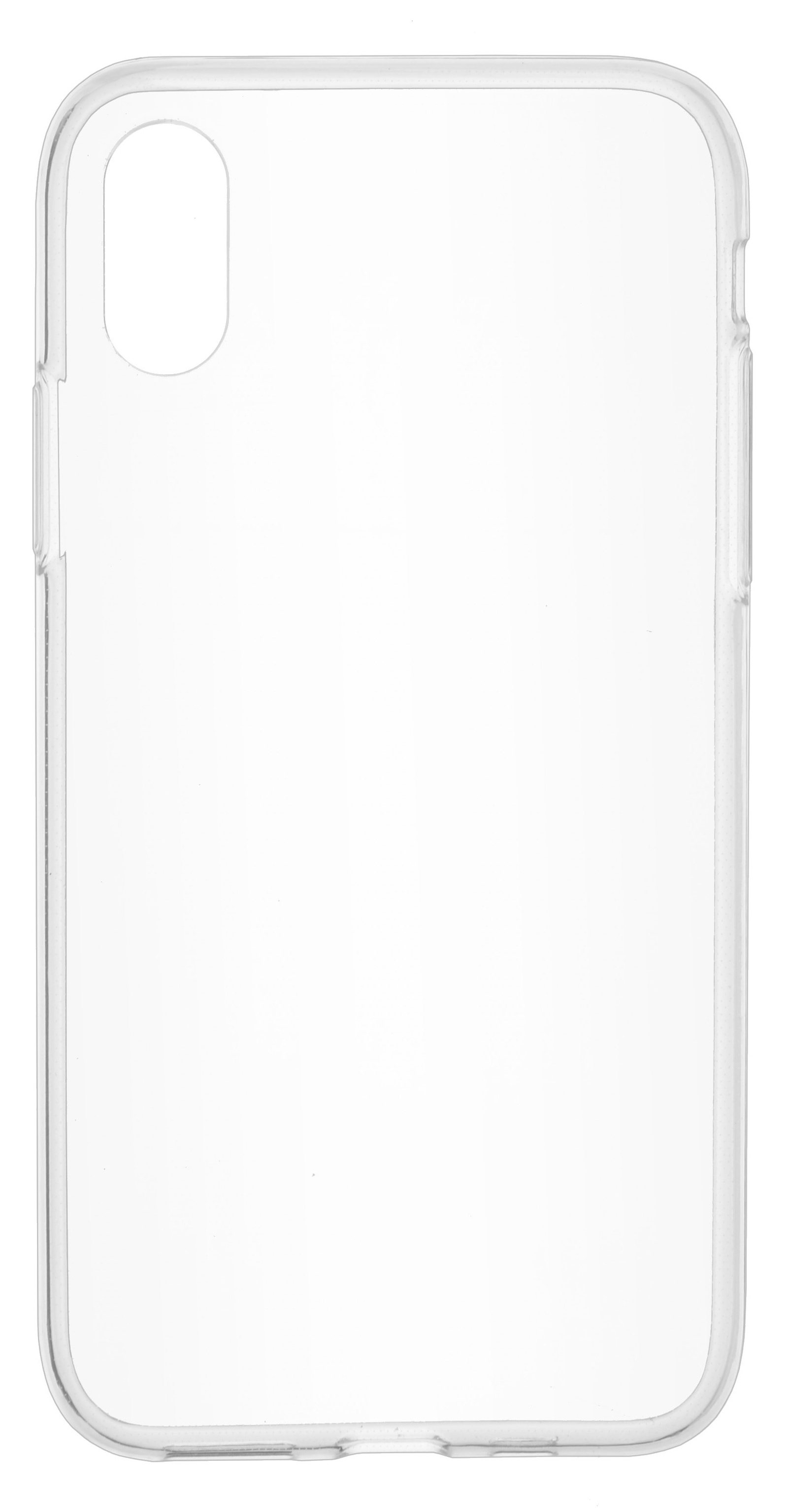 Накладка Skinbox Slim Silicone для Iphone XS, 4630042521100, прозрачный недорого