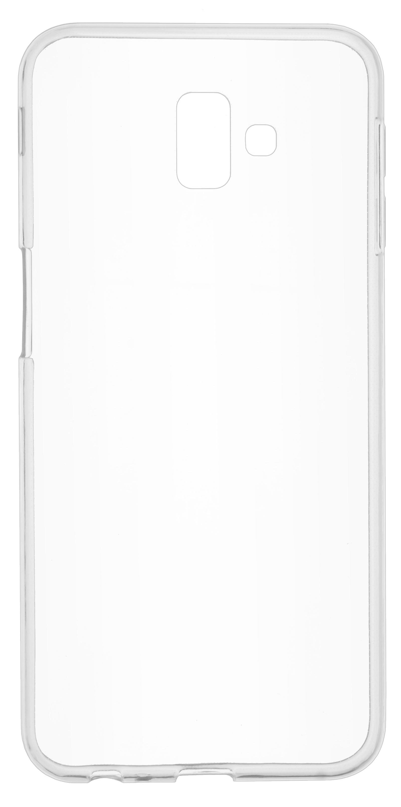 Накладка Skinbox Slim Silicone для Galaxy J6+, 4630042521421, прозрачный skinbox накладка skinbox slim silicone для samsung galaxy note 7