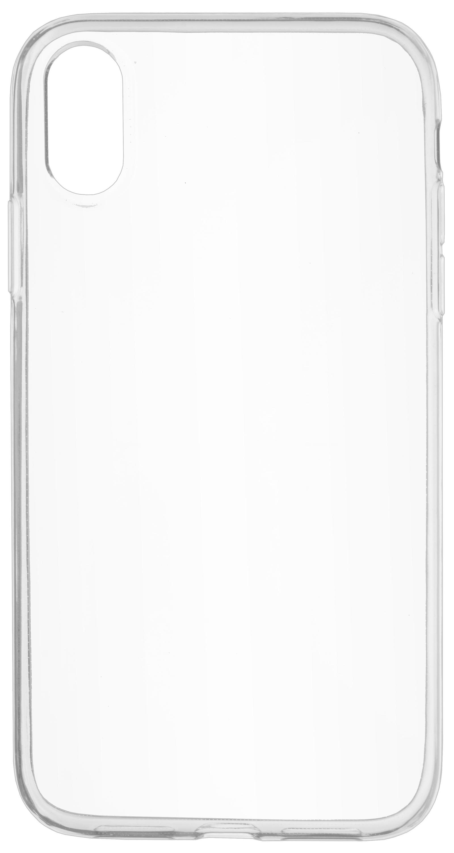 Накладка Skinbox Slim Silicone для iPhone XR, 4660041405729, прозрачный skinbox накладка skinbox slim silicone для lg v20