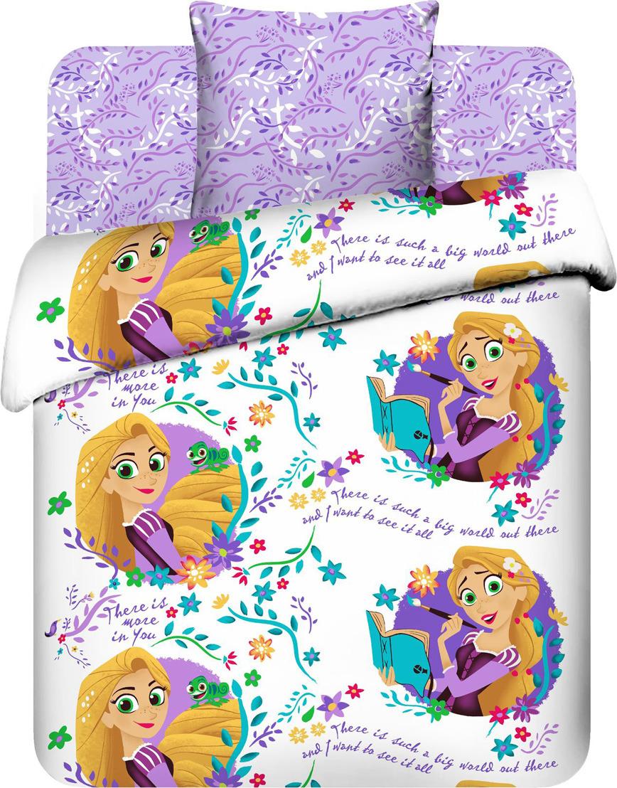 Комплект постельного белья Василек Тинейджер Disney, 187059, 1,5 спальный, наволочки 70x70, сиреневый комплект белья василек дискавери 1 5 спальный наволочки 70x70 цвет разноцветный 7616 1