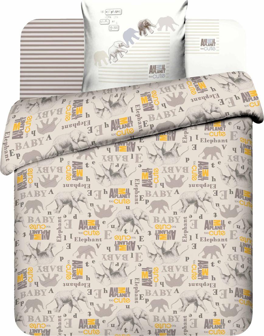 Комплект постельного белья Василек Тинейджер Discovery, 189889, 1,5 спальный, наволочки 70x70, бежевый комплект белья василек дискавери 1 5 спальный наволочки 70x70 цвет разноцветный 7616 1