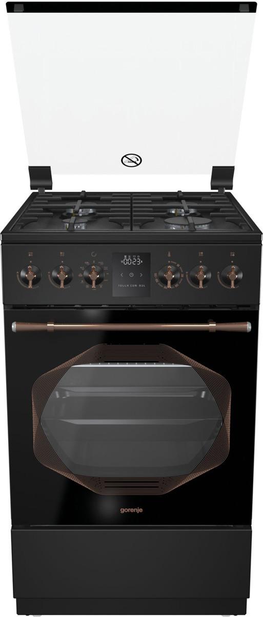 Кухонная плита Gorenje K53INB, черный цена и фото