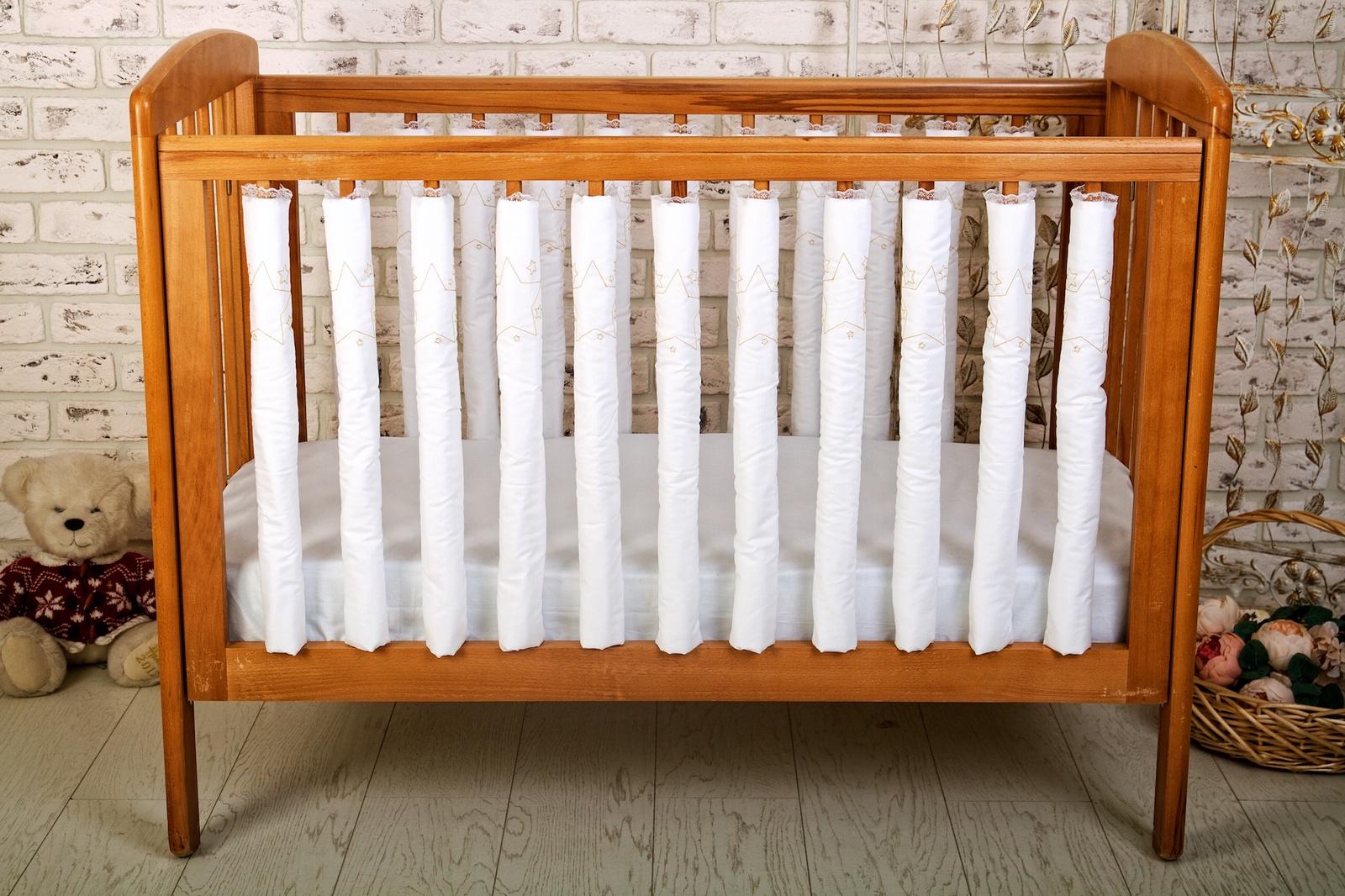 Бортик в кроватку Cloud Factory Dream Star, 12 фенс-бамперов, CF-1-DS цена