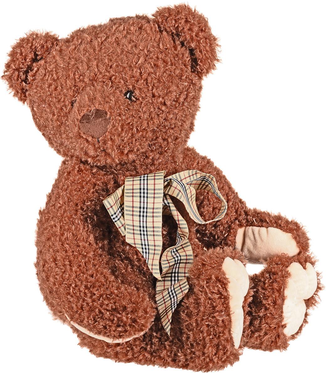 """Мягкая игрушка СмолТойс """"Медвежонок Крис"""", цвет: коричневый, высота 40 см"""