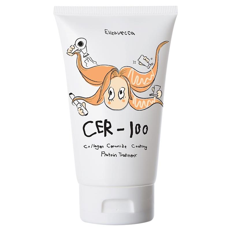 Elizavecca. Коллагеновая маска для волос Cer-100 Collagen Ceramide Coating Protein Treatment