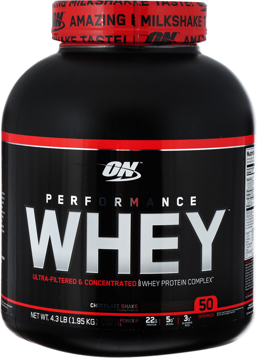 Протеин Optimum Nutrition Performance Whey, шоколад, 1,95 кг цена
