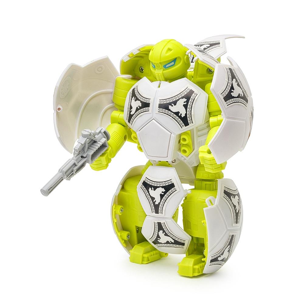Робот-трансформер Футбольный мяч FindusToys мяч попрыгун наша игрушка мяч трансформер пластик от 3 лет разноцветный 100994539