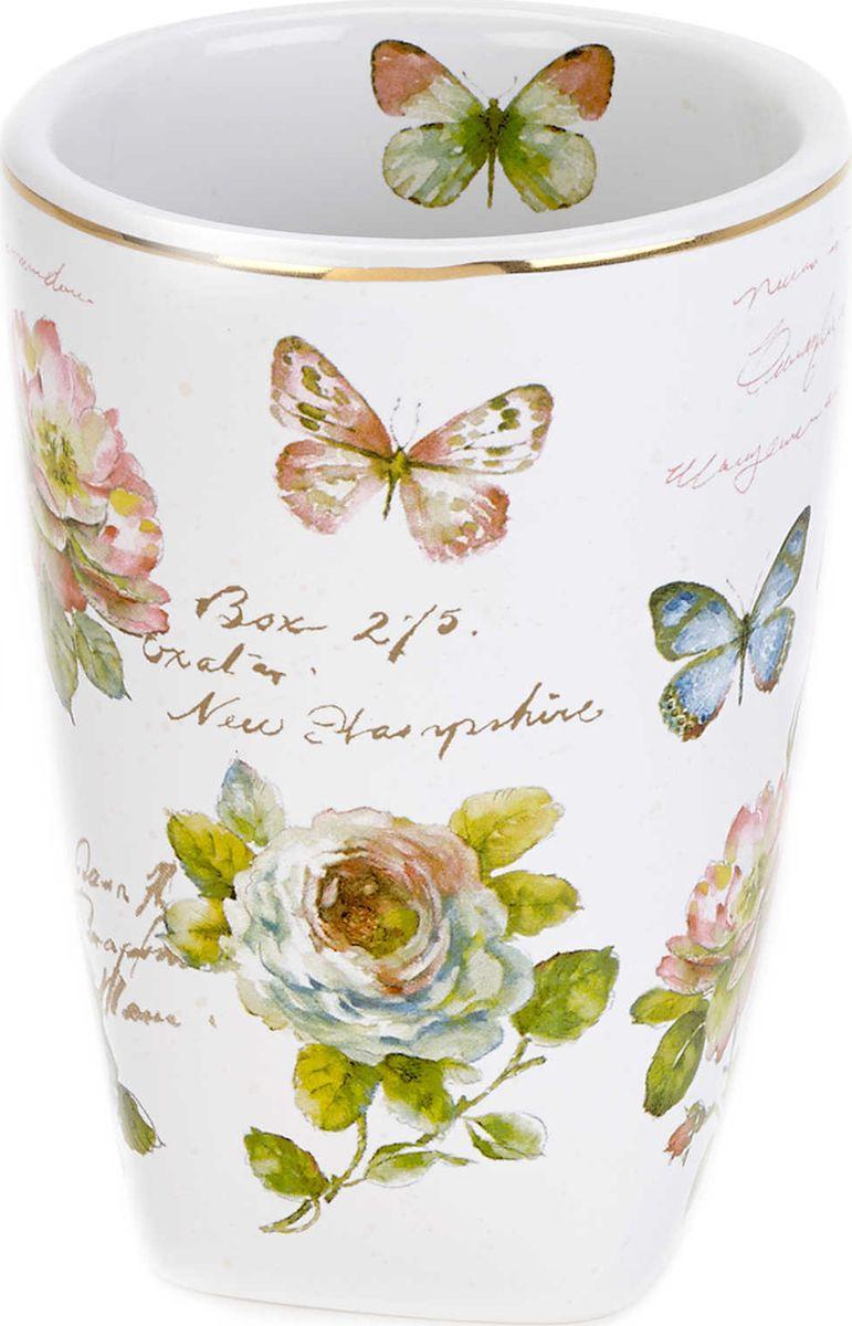 цена на Стакан для зубной пасты Avanti Butterfly Garden, 13882A, 200 мл
