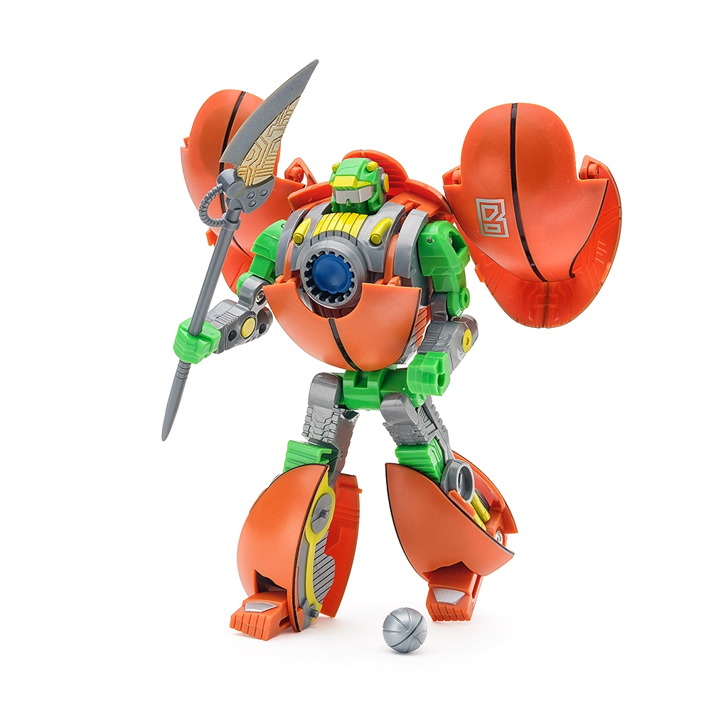 Робот-трансформер Баскетбольный мяч FindusToys мяч попрыгун наша игрушка мяч трансформер пластик от 3 лет разноцветный 100994539