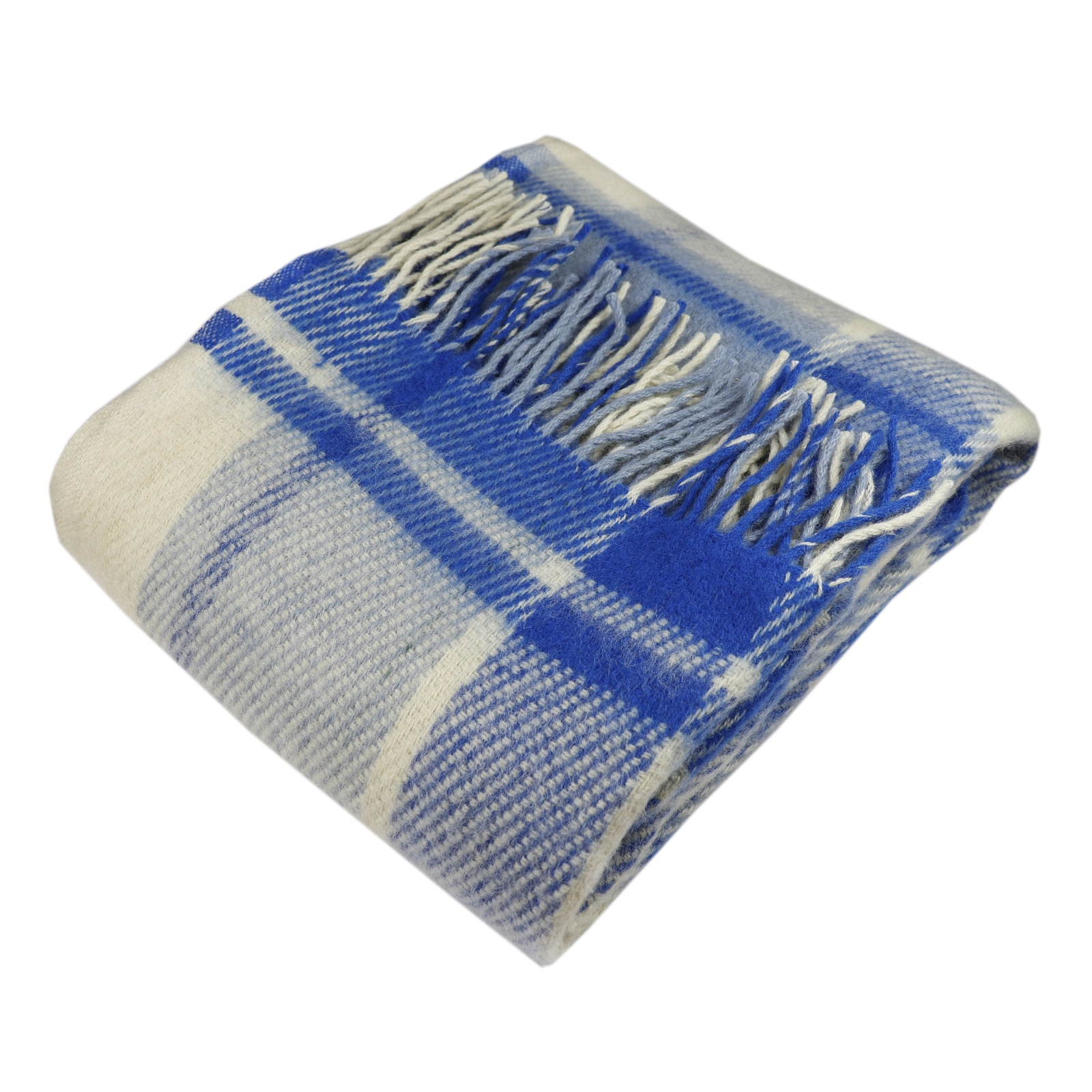 """Плед Arloni """"Традиция"""", синий, 130х180 см"""
