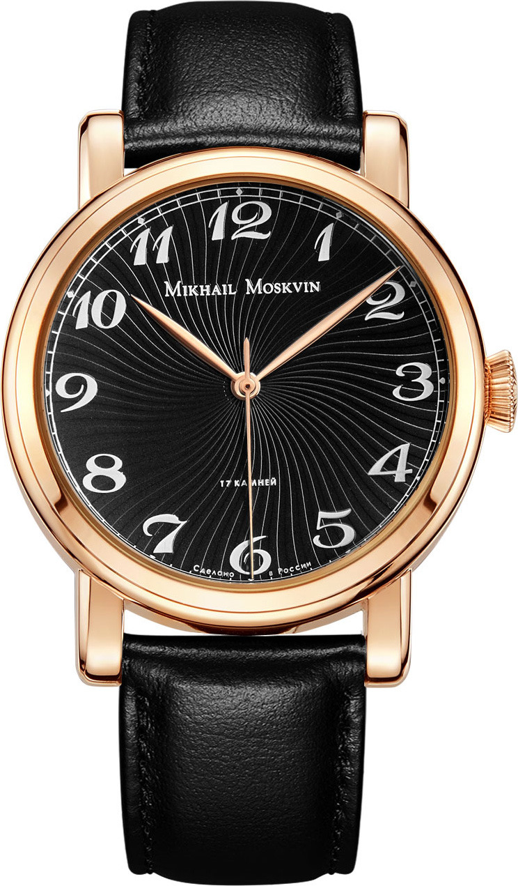 Часы наручные мужские Mikhail Moskvin, 1501A3L5, золотистый все цены