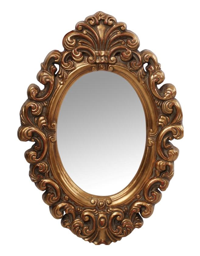 Зеркало интерьерное Мастер Рио Зеркало Ампир 9019, золотой