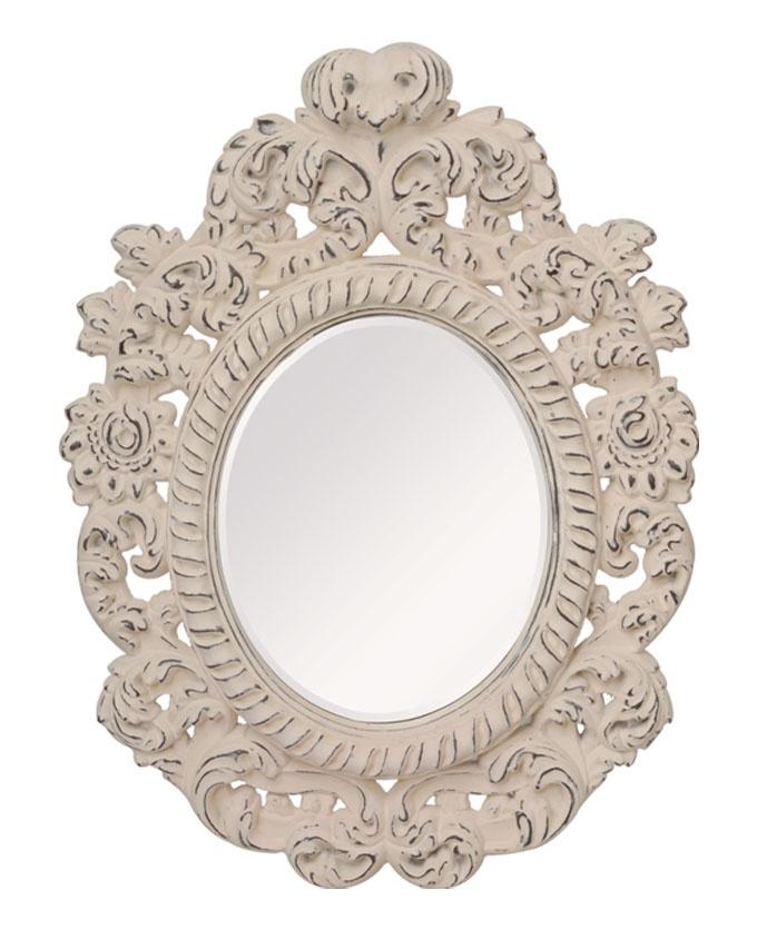 Зеркало интерьерное Мастер Рио Зеркало Ампир 9004, белый