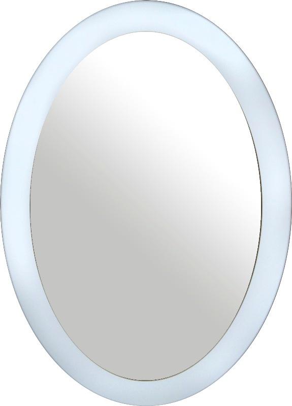 Зеркало интерьерное Мастер Рио Зеркало овальное белое, белый