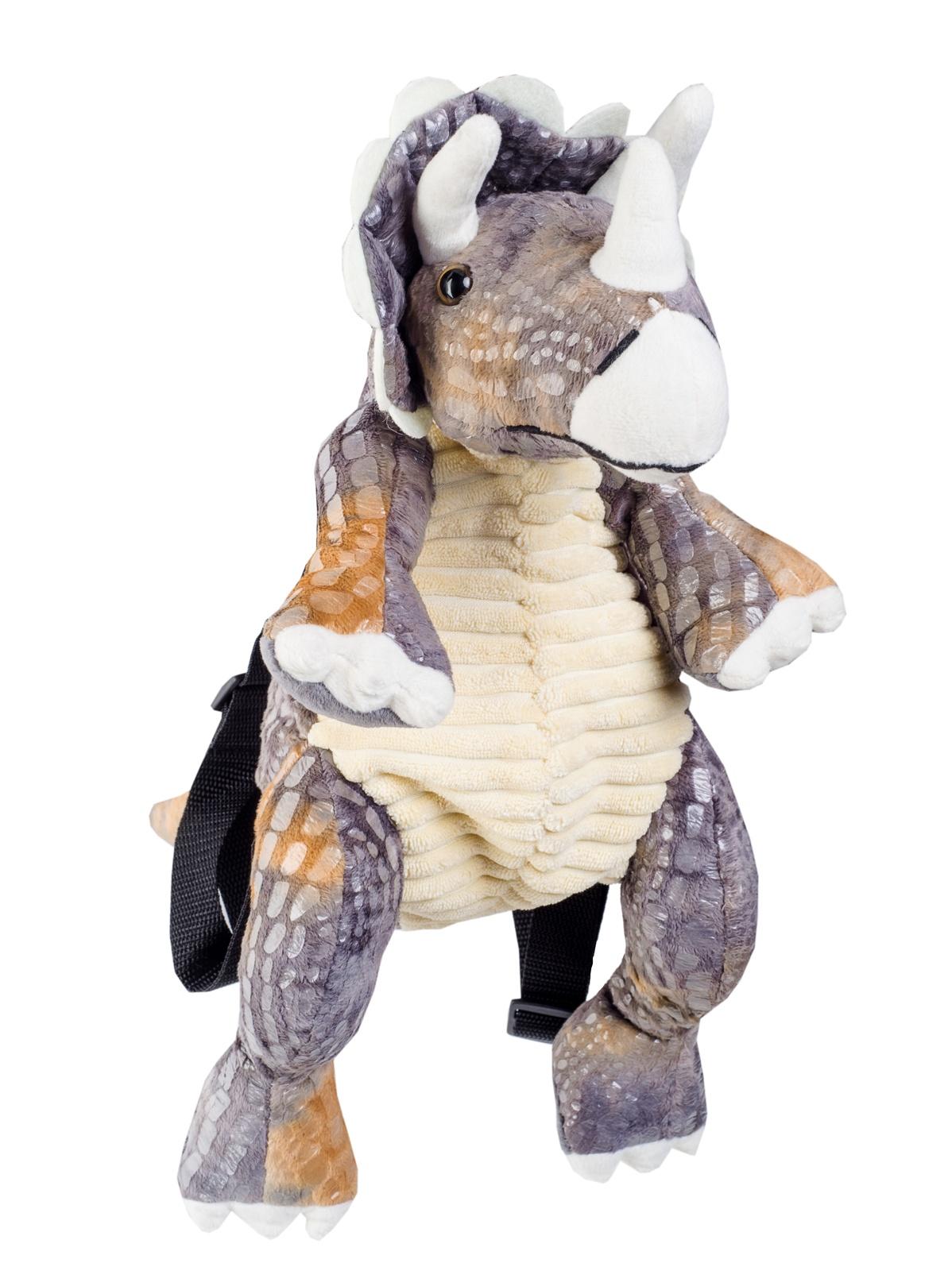 """Рюкзак-игрушка Динозавр (""""Трицератопс"""" )"""