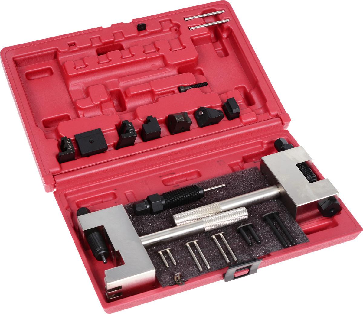 Набор инструментов для разъединения/соединения звеньев цепи ГРМ, MB бензиновых и дизельных двигателей . JTC-4476