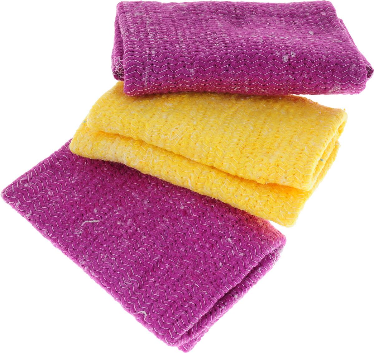 Набор салфеток для уборки Лайма Премиум, цвет в ассортименте, 30 х 30 см, 3 шт2212345679122