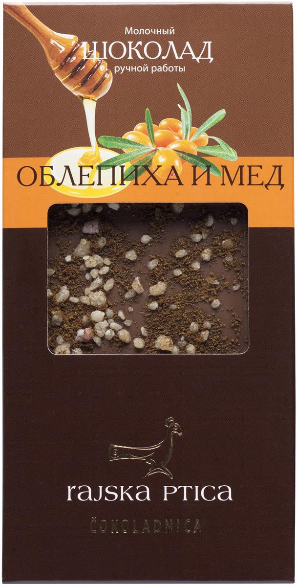 Молочный шоколад Райская птица, с облепихой и гречишным медом, 85 г 15 012 маска райская птица