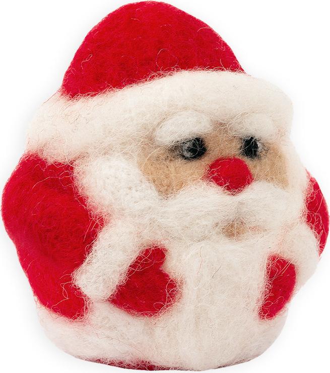Набор для валяния Woolla Дедушка Мороз, WT-0173 набор для валяния woolla олененок оникс wt 0164