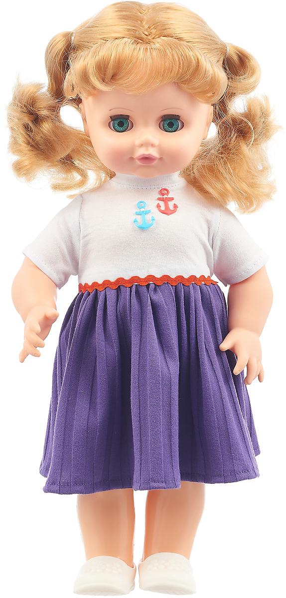 """Кукла озвученная Весна """"Инна"""", В1652/о, белый, фиолетовый, 43 см"""