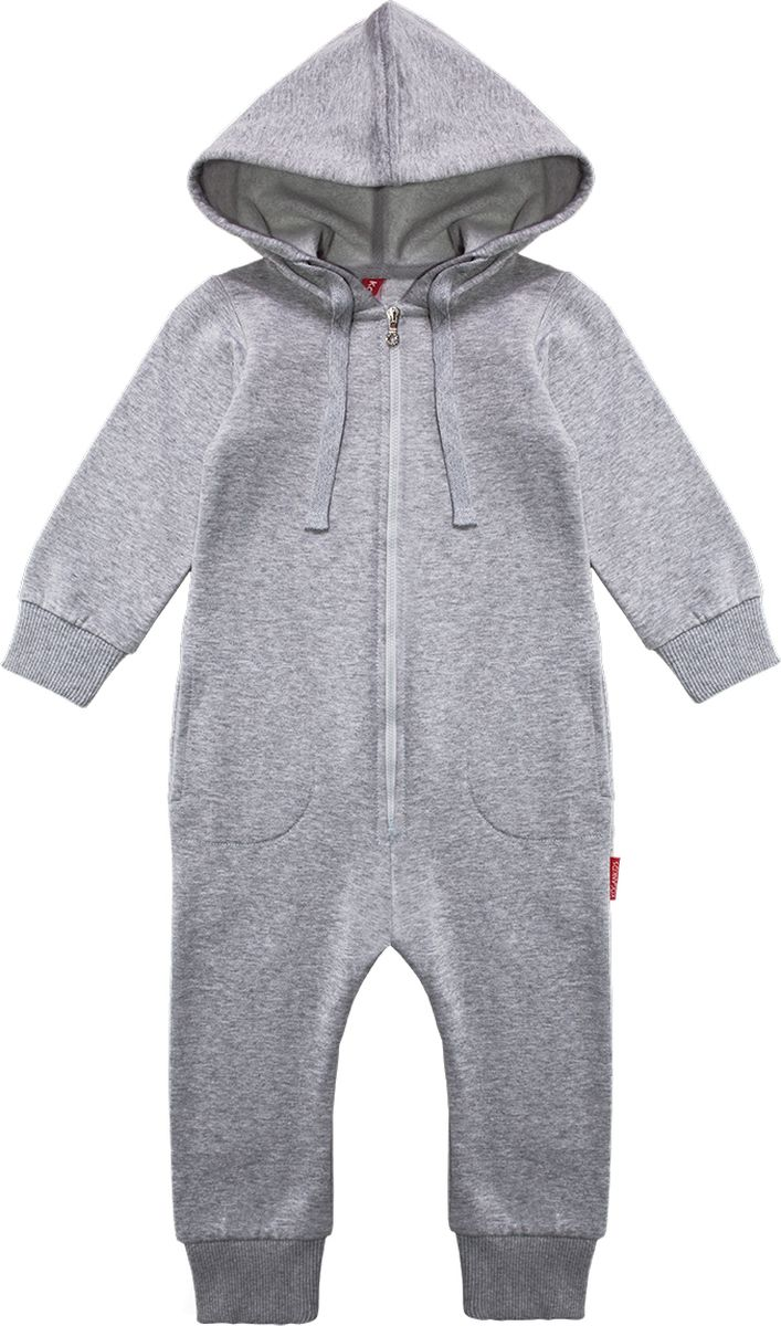 Комбинезон Kogankids брюки для девочки kogankids цвет серый меланж 201 327 22 размер 128
