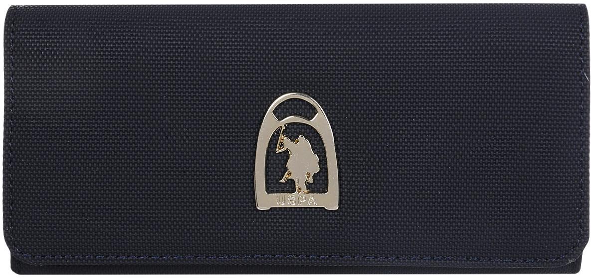 Портмоне женское U.S. Polo Assn., A082SZ0CD0K8FANE_VR033, темно-синий женское платье polo